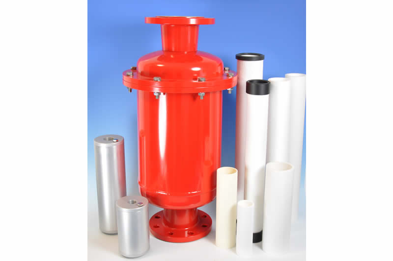 Vacuum pump filter for air and gas filtration   Contec