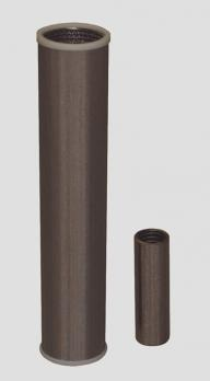 Stainless steel filtration elements for air and gas filtration