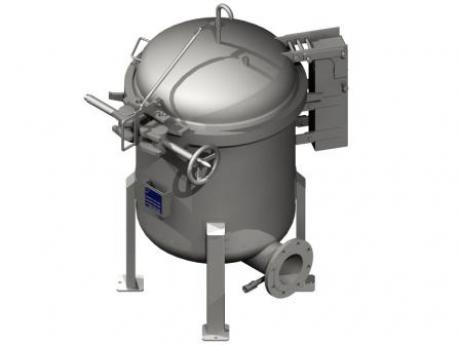 Multi-bag filter housings made of stainless for liquid filtration