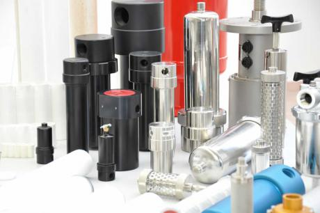 Compressed air filter for air and gas filtration