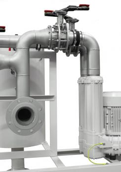 Contec® Oil Mist Separator/Oil Mist Eliminator Type 2.200/630, Flow rate 270 Nm³/h with side blower