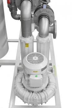Contec® Oil Mist Separator/Oil Mist Eliminator Type 300/935, Flow rate 50 Nm³/h with side blower